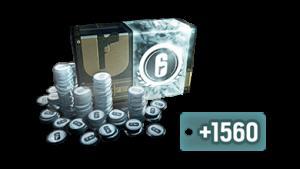Rainbow Six Siege Credits - PC -> 7560 R6