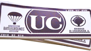 PUBG Mobile Coin -> 60 UC